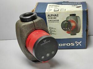 Grundfos ALPHA2 32-80 180 Circulator For Heating System 98676766 Model D 1x230V