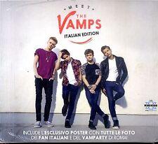VAMPS Meet The Vamps (Italian Edition) CD+ Poster Italian Edition NEW Sigillato