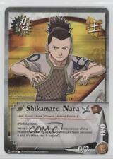 2007 Naruto Collectible Card Game: Eternal Rivalry #NUS014.1 Shikamaru Nara 2o0