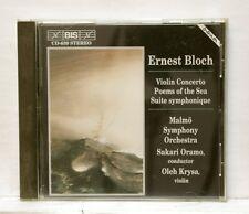 OLEH KRYSA, ORAMO - BLOCH violin concerto, poems of the sea BIS CD NM