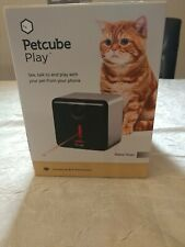 NEW Petcube Play Indoor 1080p Wi-Fi Pet Cam w/Laser Toy - See Talk Play w/ Phone
