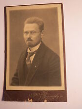 Regensburg - 1924 - A. Hartwig ? als  junger Mann mit Bart & Brille CDV