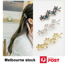 2*Women's metal hairpin five-leaf flower Clips fashion Lady's Hair Accessories