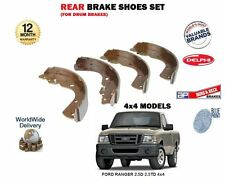 FOR FORD RANGER 2.5D 2.5TD 4x4 TDCI 1999-2011 NEW REAR BRAKE SHOES SET