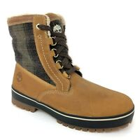 """Timberland Men's 6"""" Spruce Mountain Wheat Leather Waterproof Snow Boots 6900B"""