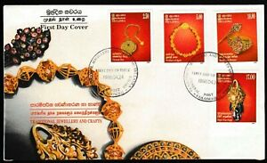 Traditional Jewellery And Crafts Of Sri Lanka 1998 FDC First Day Cover