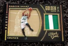2015-16 Panini Black Gold Golden Jams Marcus Smart Prime Jersey Patch 14/25 134