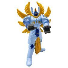 Digimon Seraphimon Mini Figure 2 Inch PVC Angel Gold Wings Vintage Bandai 2000