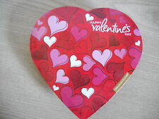 HAPPY VALENTINE'S DAY 5 PIECE CANDY HEART BOX EMPTY BY ELMER CHOCOLATE