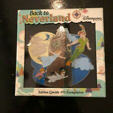 Disney Peter Pan Back To Neverland Disneyland Paris Jumbo Pin Rare Le 425