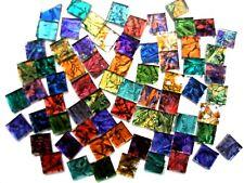 200 Mixed Van Gogh mosaic TILES 1cm x 1cm stunning colors