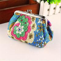 Women Small Wallet Change Coin Purse Hasp Clutch Card Holder Handbag WE