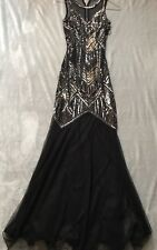 Miss Selfridge Embellished Gown. New year/prom/Xmas Party/Dinner Party. Size 6.
