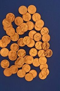1960 P Lincoln Memorial Penny Roll