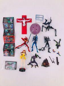 NEON GENESIS EVANGELION movie 7 mini-figures set  PVC 9cm Kaiyodo 2002