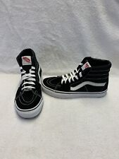 Vans Off The Wall Women's Black/white Hightop Shoes~size  6.5 (Men's 5)