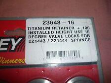 Manley 23648-16 Titanium retainers New full set