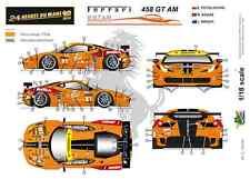 [FFSMC Productions] 1/18 Ferrari F458 GT AM 8Star Motorsports 24 H du Mans 2013