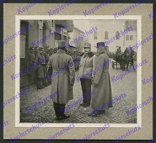 GM Ritter Max v. Hoen Kommandant KPQ Parade Kaiserjäger Galizien K.u.K Adel 1915