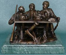 Ukrainian COSSACKS on Feast EXCLUSIVE brass bronze statue sculpture figurine