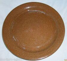Vintage Southern Folk Art Pottery Georgia Signed Steve Turpin 1997 Large Plate
