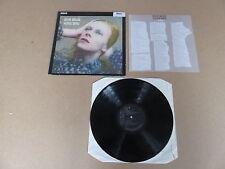 DAVID BOWIE Hunky Dory LP RARE ORIGINAL RCA BLACK LABEL UK 5E PRESSING & INSERT