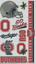 NCAA College OHIO STATE University Temporary Tattoos Sheet by Wincraft Inc
