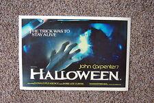 Halloween #2 Lobby Card Movie Poster Jamie Lee Curtis John Carpenters