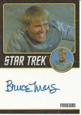 Bruce Mars as Finnegan Black Autograph Card - Star Trek TOS 50th Anniversary