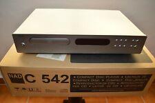 Reproductor CD NAD C542 mando a distancia, instrucciones y embalaje original