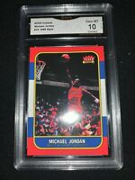 1986-87 Art Style Michael JORDAN rookie ACEO GRADED Gem MINT 10 PSA alternative