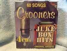 Crooners Juke Box Hits [1/29] by Various Artists (4 CD, Jan-2016) Sealed