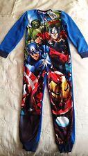 BNWT Tesco F&F Marvel Avengers all in one age 6-7 years sleepwear pj's pyjamas