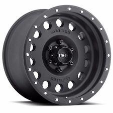 """15x8"""" Method Hole MR307 Matte Black Wheels, 5 Lug & 6 Lug, Set of 4"""