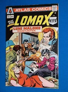 POLICE ACTION # 1 - FINE 6.0 - 1975 BONDAGE COVER - 1st APP LOMAX NYPD, MALONE