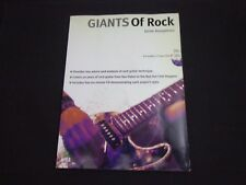 * Giants of Rock- Guitar Instruction -Songbook-2 Cds