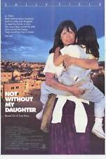 NOT WITHOUT MY DAUGHTER Movie POSTER 27x40 Sally Field Alfred Molina Sheila