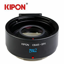 Kipon Optic Adapter Focal Reducer for Contax 645 Lens to Fuji GFX Medium Camera