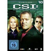 CSI: CRIME SCENE INVESTIGATION - SEASON 10 6 DVD NEU