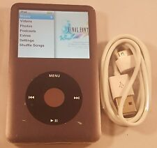 Black Apple Ipod Classic 7th Generation (160 GB) Works Great! Fast Shipping!
