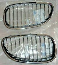 BMW FEO E60 E61 5 Series Sedan Or Touring 2004-2010 M5 Chrome Grille Set NEW