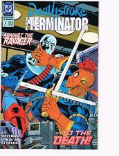 Deathstroke The Terminator  # 4  VF 8.0