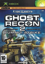 GHOST RECON 2 SUMMIT STRIKE for Xbox - with box & manual - PAL
