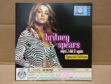 Mega Rare Britney Spears Oops I Did It Again 2000 Promo Malaysia VCD FCS8853