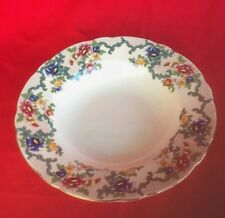 Royal Cauldon ~ Victoria ~ Rimmed Soup Bowl ~ England