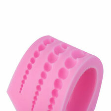 Silicone 3 Size Pearl 3D Chocolate Candy Cake Silicone Fondant Lace Mold Mould