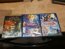 Chronicles Of Narnia Complete 3 Film Series Movies 1-3 1 2 3 New Dvd Bundle Set