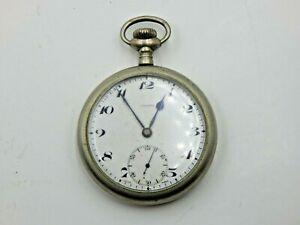 Vintage Omega Regina Watch Co. 15j Swiss Pocket Watch
