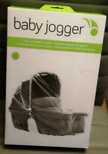 BNIB BABY JOGGER CITY TOUR LUX CARRY COT WEATHER SHIELD RAINCOVER