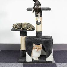 Cat Tree Small Scratching Grab Climbing Activity Post Gym House Play Furniture